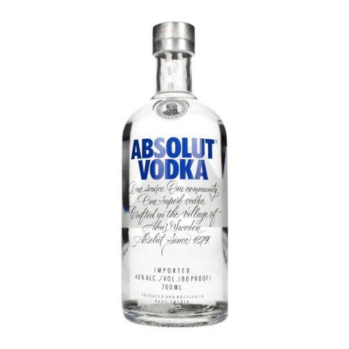 Absolut Blue Vodka (700mL)