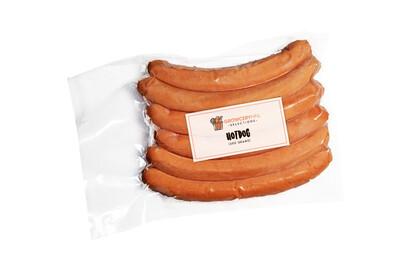 Euro-Swiss Hotdog by 6 (350g)
