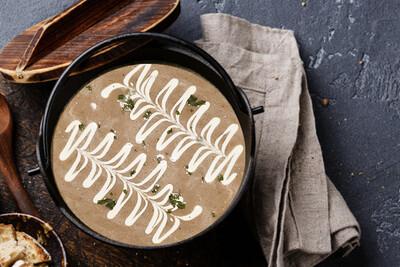 Chuck's Deli + Bakery Mushroom Soup (500g)