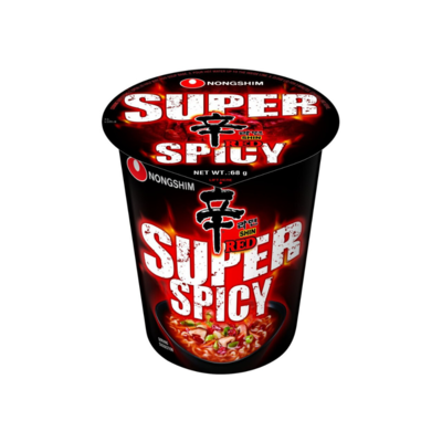 Nongshim Shin Red Super Spicy Cup (68g)