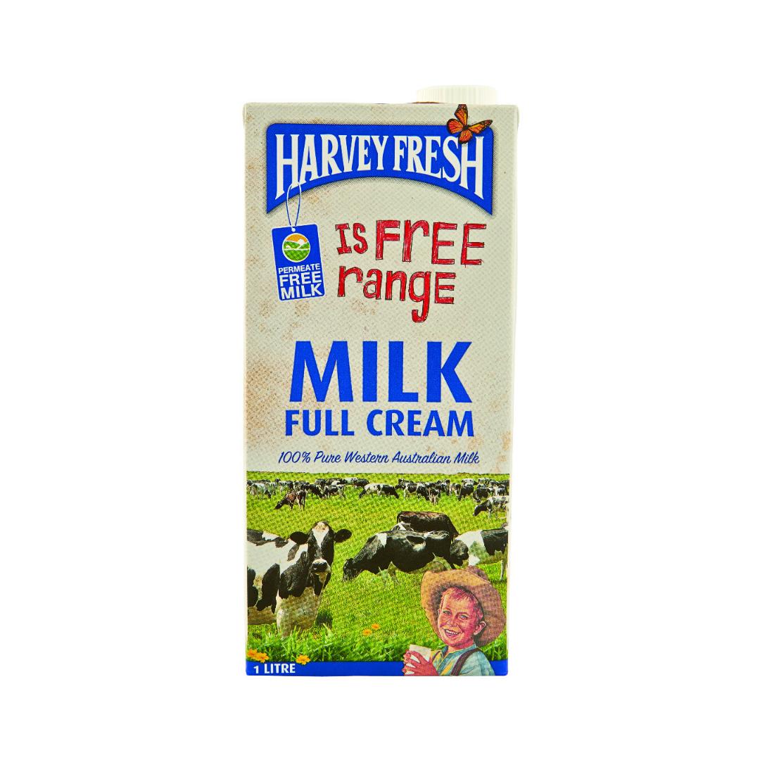 Harvey Fresh Full Cream Milk (1L)