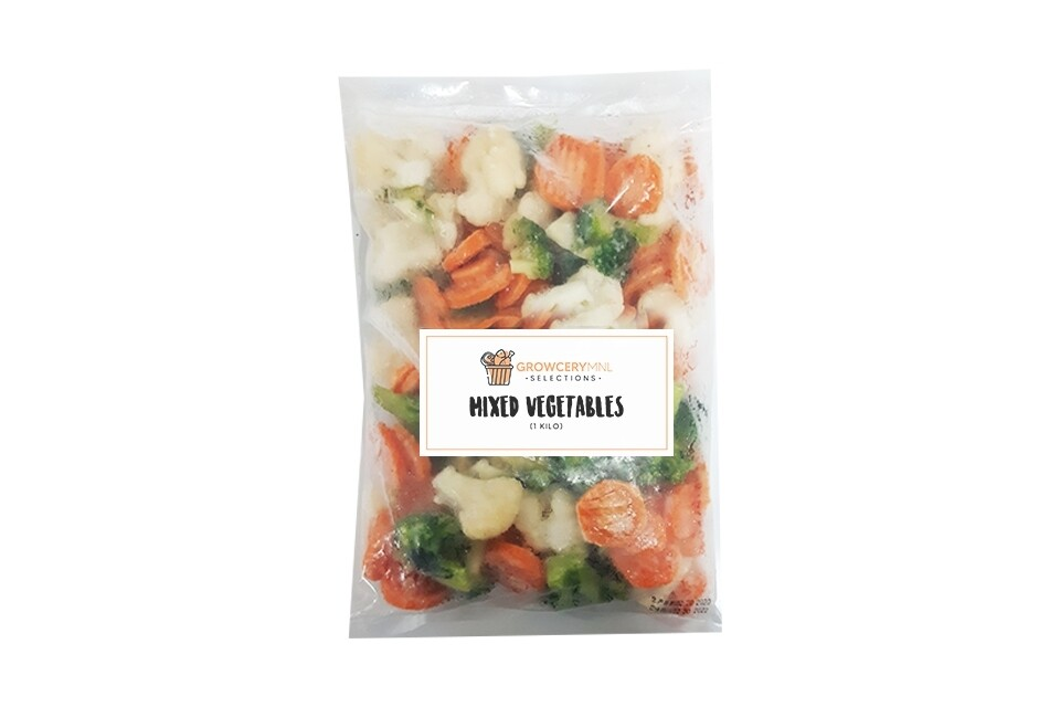 Mixed Vegetables (1kg)
