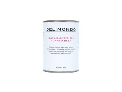 Delimondo Garlic & Chili Corned Beef (380g)