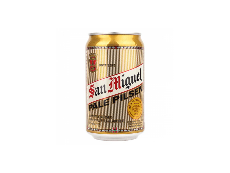 San Miguel Pale Pilsen Beer by 6