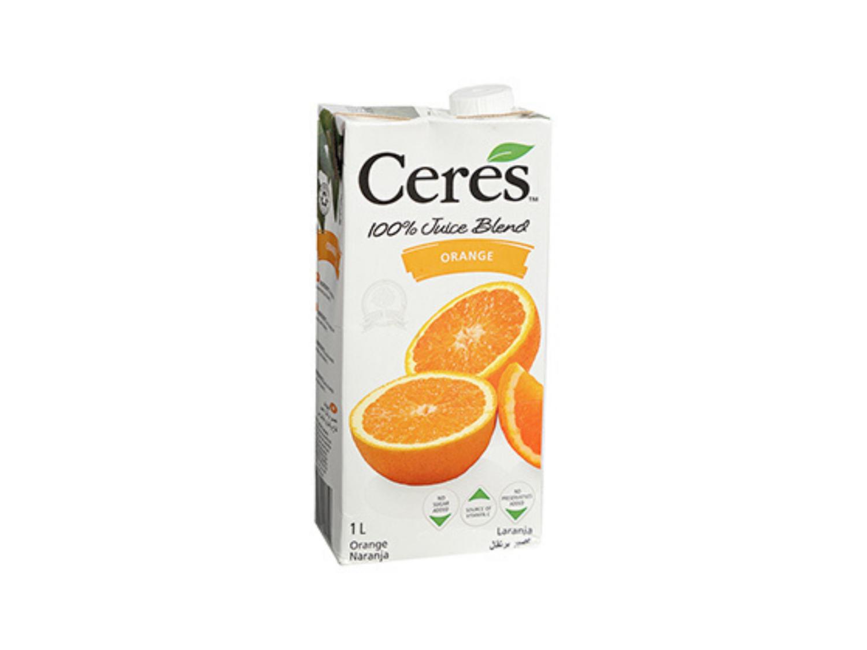 Ceres Orange Juice 100% Natural (1L)