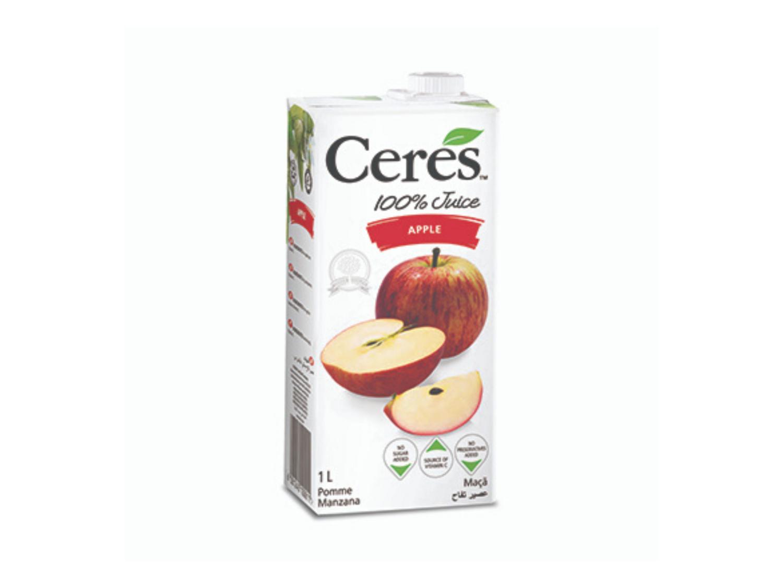 Ceres Apple Juice 100% Natural (1L)