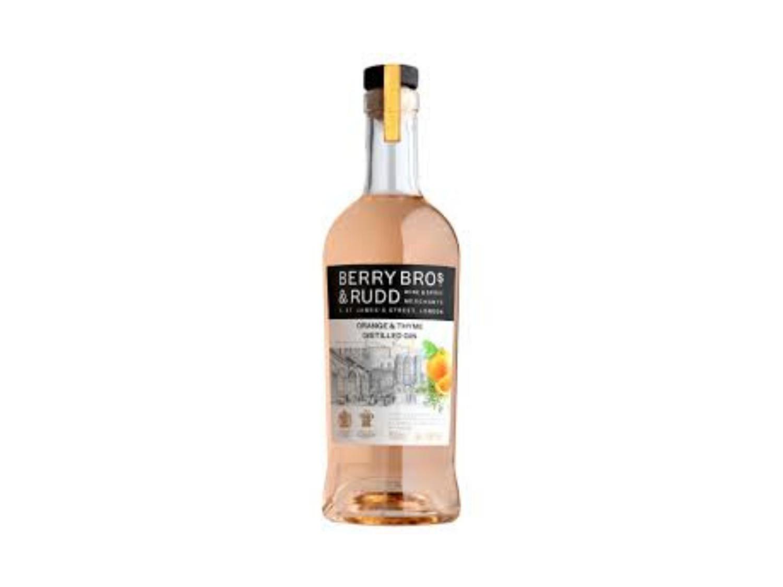 Berry Bros. & Rudd Orange & Thyme Distilled Gin (700mL)