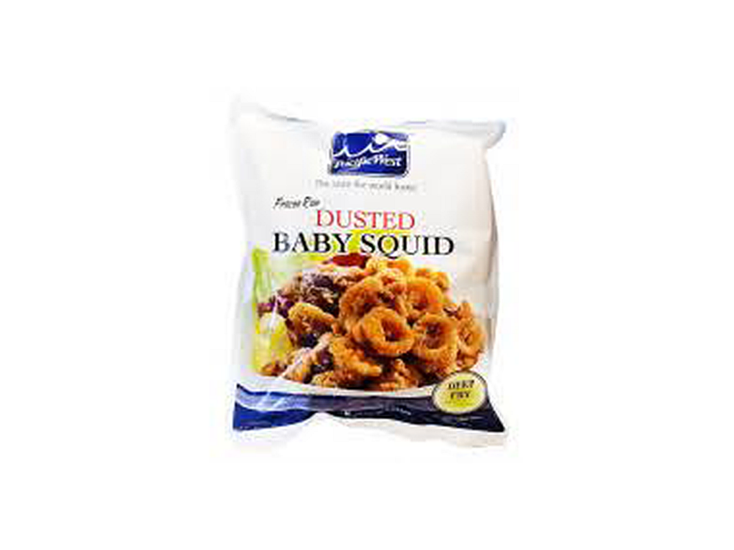 Pacific West Dusted Baby Squid (300g)