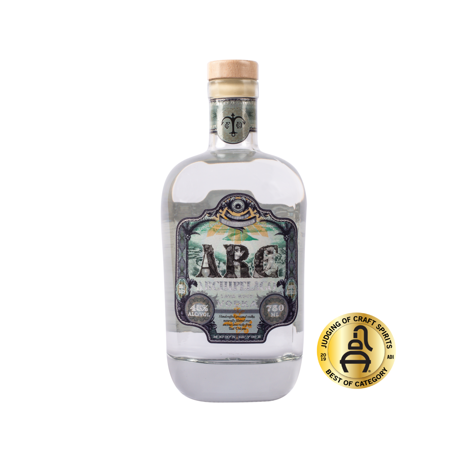 ARC Lava Rock Vodka (750mL)