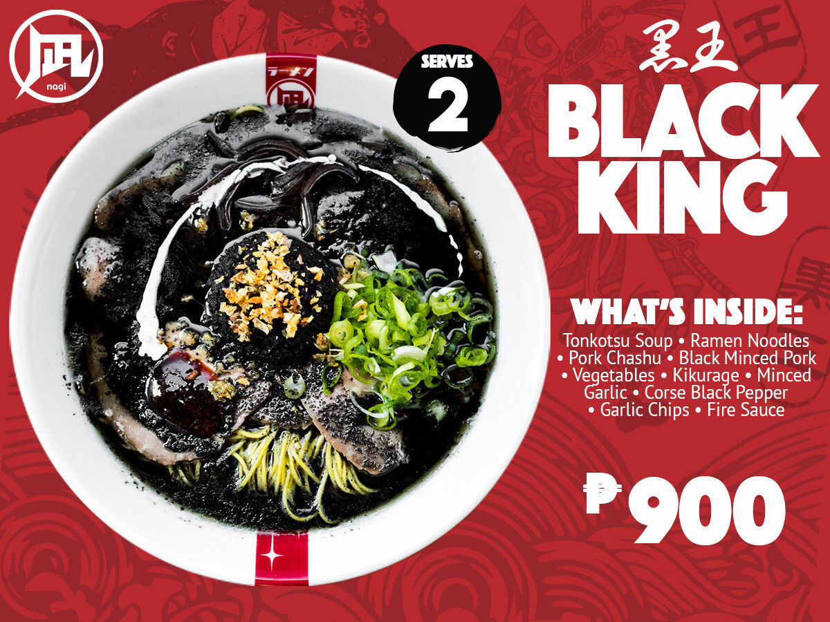 Ramen Nagi Black King