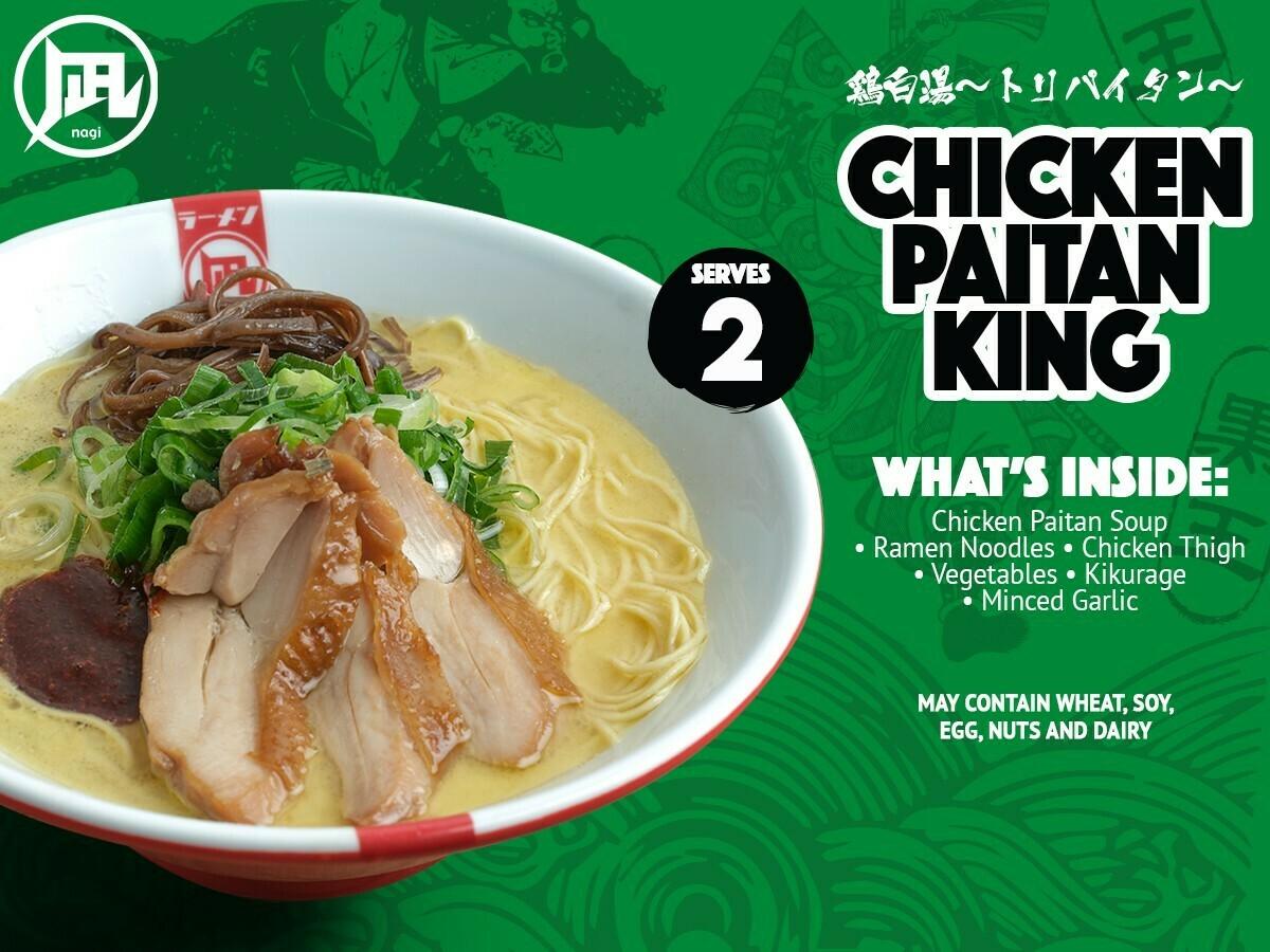 Ramen Nagi Chicken Paitan King
