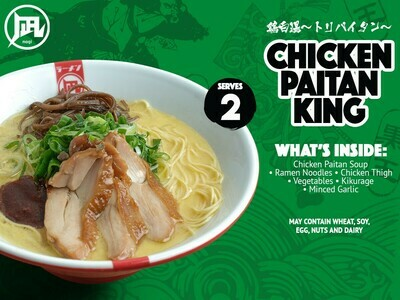 Ramen Nagi Chicken Paitan King