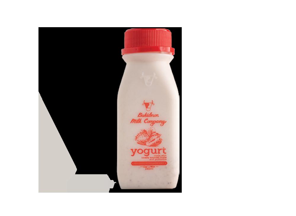 Bukidnon Milk Company Strawberry Yogurt