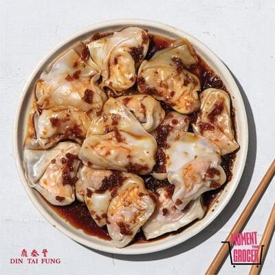 Din Tai Fung Shrimp & Pork Wonton with Din Tai Fung House Sauce of Choice