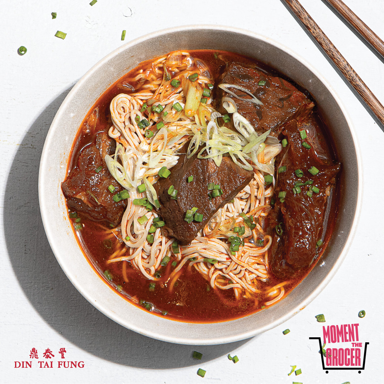 Din Tai Fung Braised Beef Noodle Soup