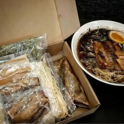 Menya Kokoro Black Garlic Ramen