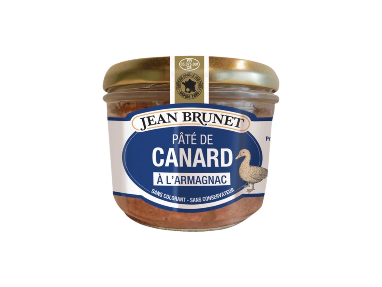 Jean Brunet Duck Pâté with Armagnac (180g)