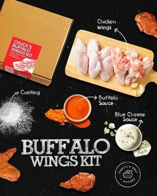 Chuck's Deli + Bakery Buffalo Wings Kit