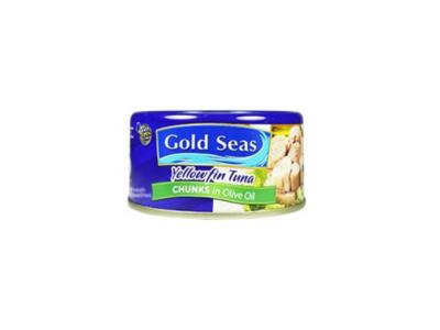 Gold Seas Yellowfin Tuna Chunks in Olive Oil (185g)