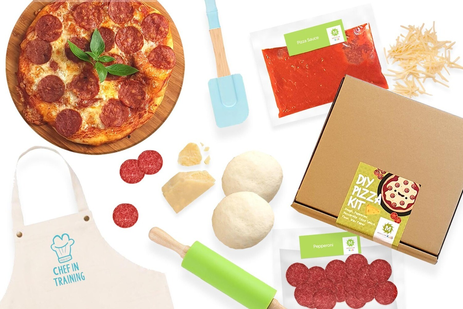 Mesclun KIDS DIY Pizza Kit