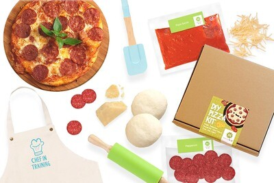 Mesclun KIDS DIY Pizza Kit