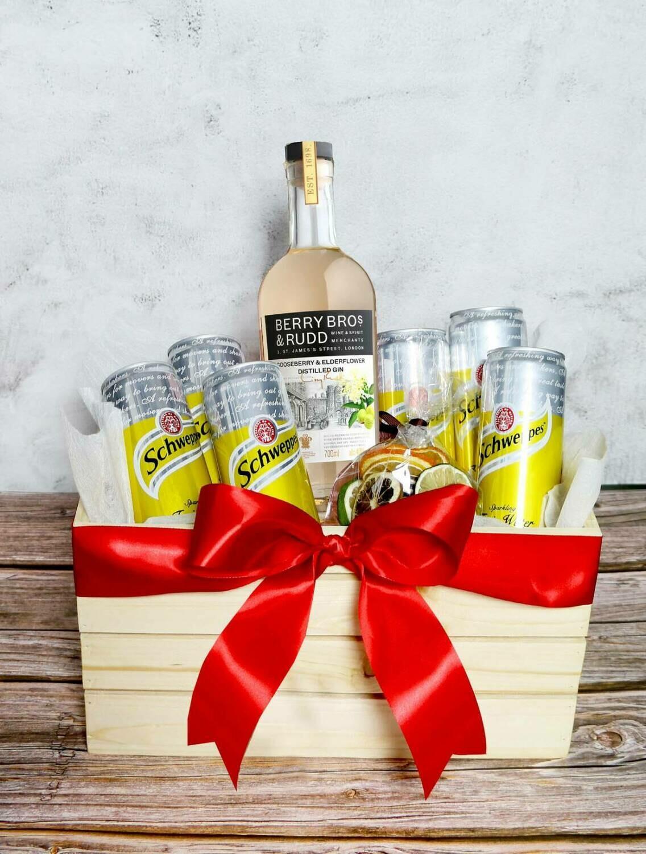 Berry Bros & Rudd Gooseberry & Elderflower Gin Set