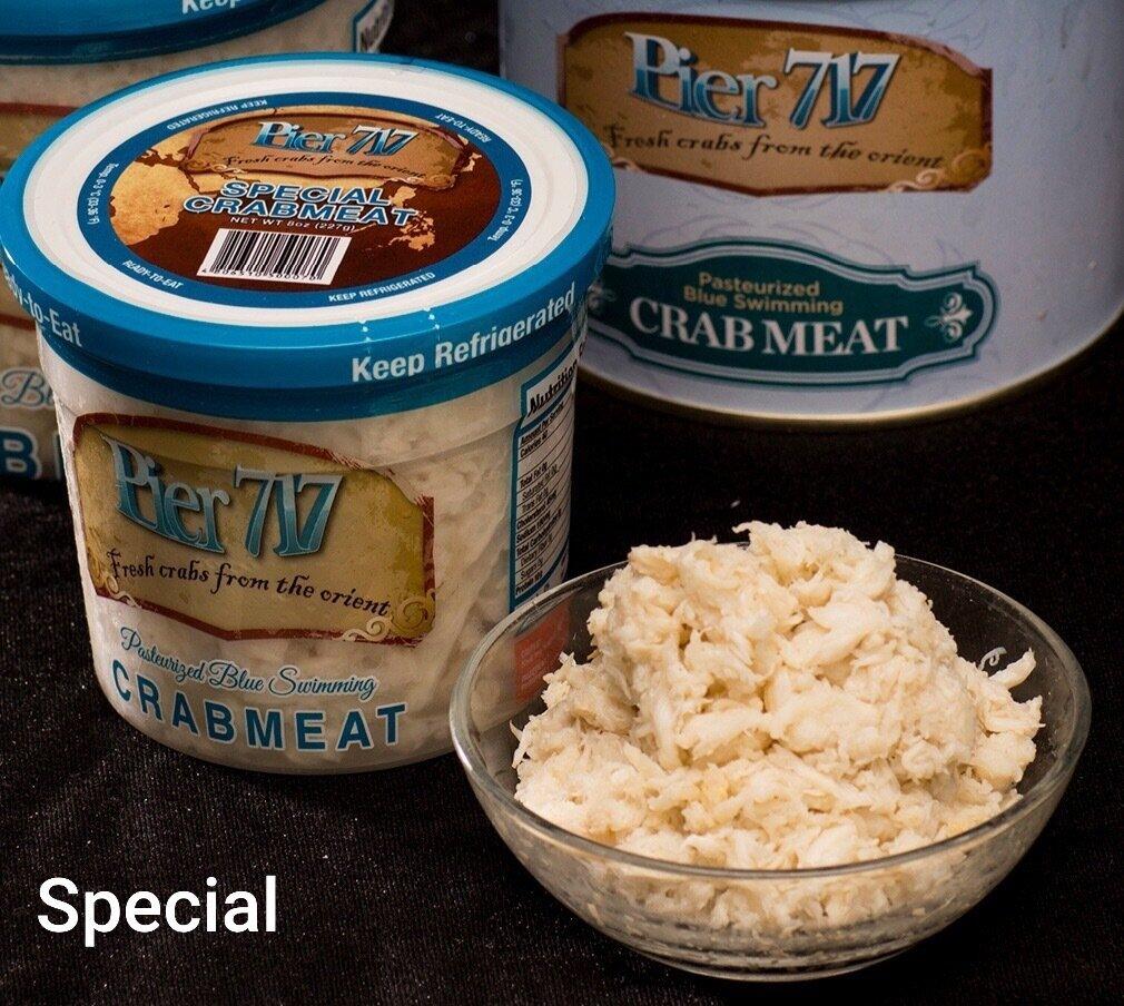 Pier 717 Special Crab Meat (Half Pound)
