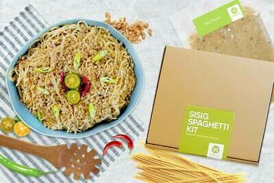 Mesclun Sisig Spaghetti Kit