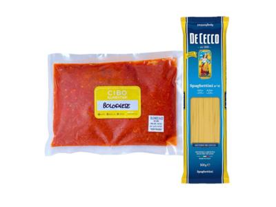 CIBO Spaghettini Alla Bolognese Beef & Pork Ragu Set (1.2kg)