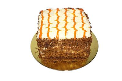"""Mesclun Carrot Cake 6"""""""