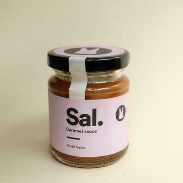 Bucky's Salted Caramel Sauce (Small)