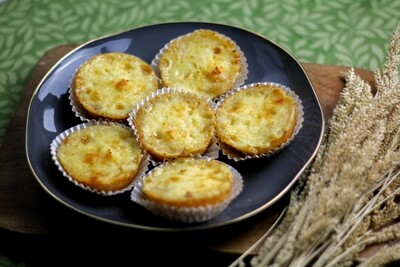 Mesclun Four Cheese Cassava by 6