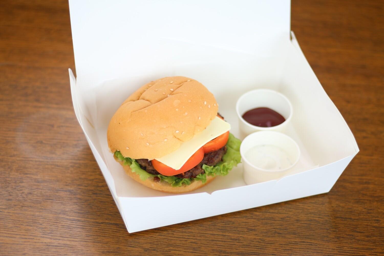 Pinoy Burger + Large Fries