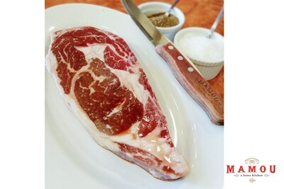 Mamou Single Angus Ribeye USDA Prime Grade Steak (400g)