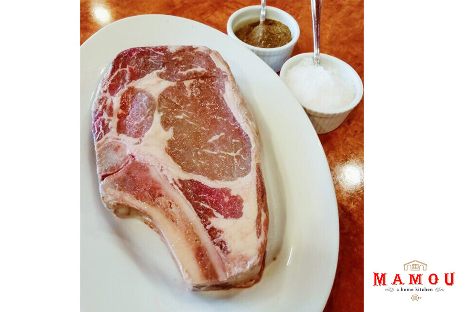 Mamou Dry Aged Bone-In Ribeye Steak (800g)
