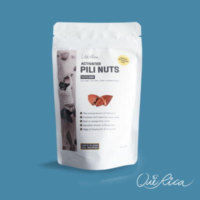 Que Rica Pili Nuts with Coffee-Coco Sugar 50g