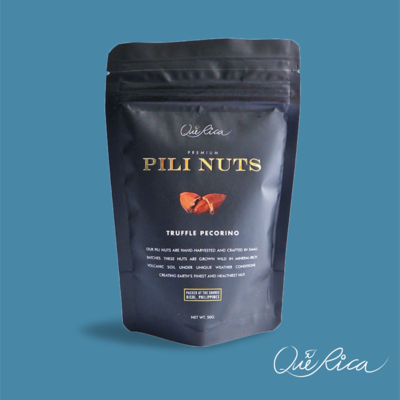 Que Rica Pili Nuts with Truffle Pecorino 50g