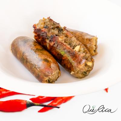 Que Rica Spicy Laing Longganisa (Pork) 350g