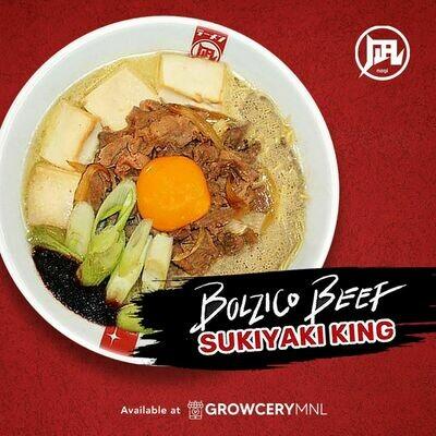 Ramen Nagi Bolzico Beef Sukiyaki King