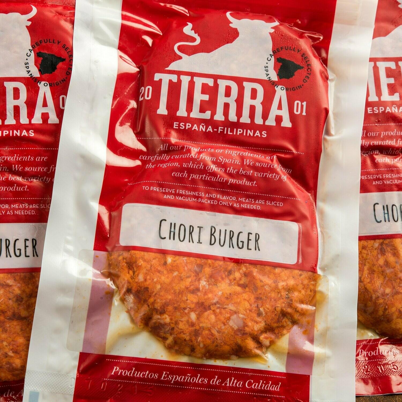 Tierra De España | Chorizo Burger