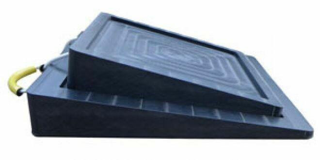 Paire de plaques coniques anti-glisse 400 + 500 mm