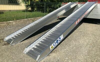 Rampes de chargement 2,5 m x 30/36 cm - 2330 kg