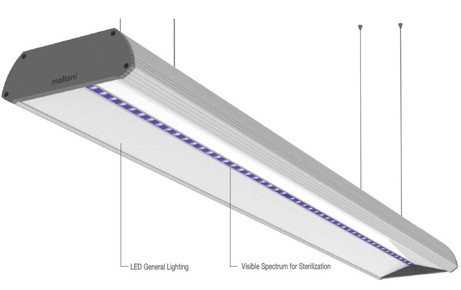 99.9% Sterilization Including COVID-19 LED Light IEC Cert (Korea)