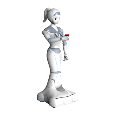 Artificial Intelligence Service Robot NANA