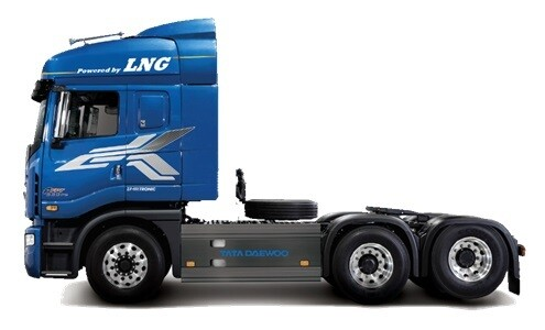 Daewoo LNG Truck