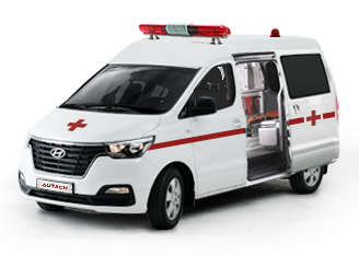 Semi-roof Grand Starex Ambulance