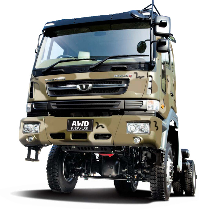 AWD Chassis Truck