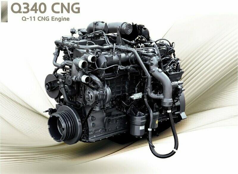 CNG ENGINE 11L Q340