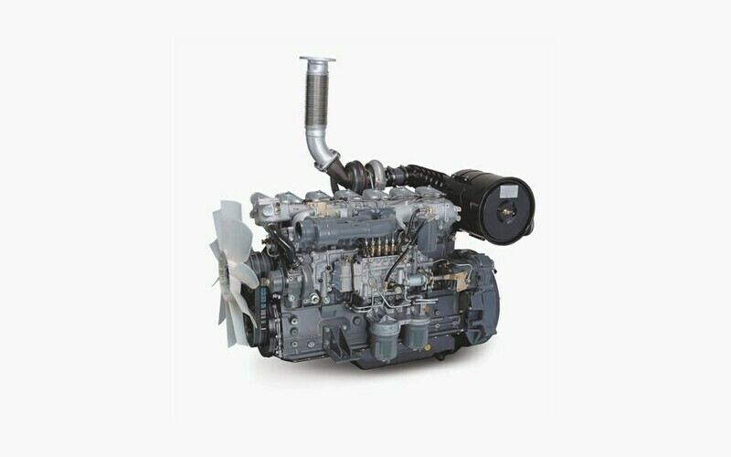 D6AC-G DIESEL GENERATOR ENGINE