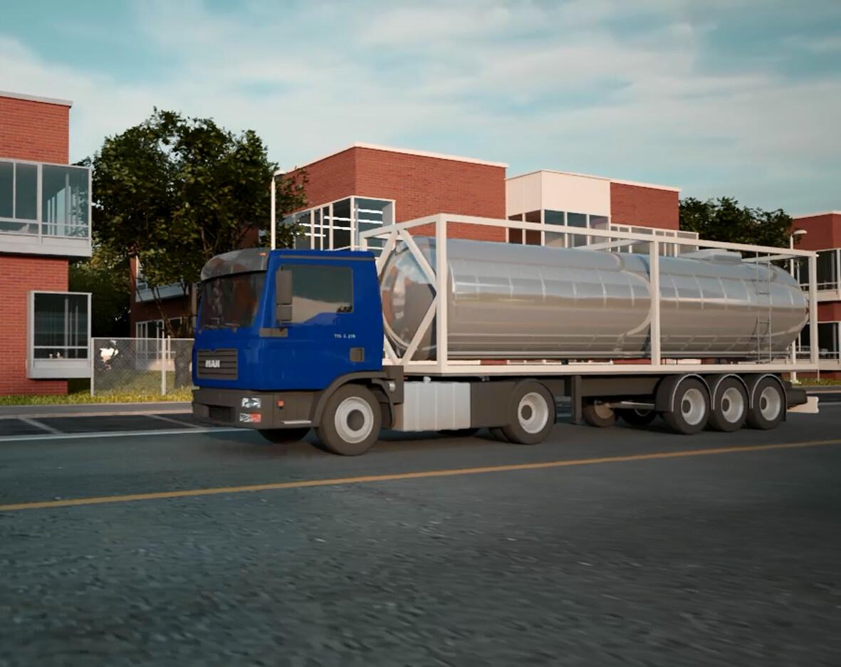 Gas Trailer